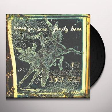 Happy Jawbone Family Band OK MIDNIGHT YOU WIN Vinyl Record