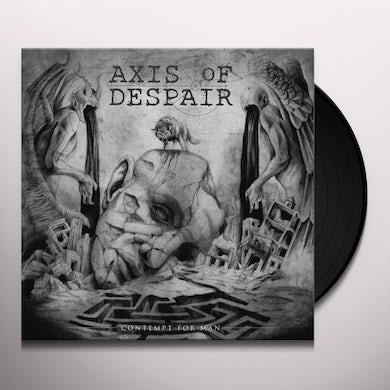Axis Of Despair CONTEMPT FOR MAN Vinyl Record