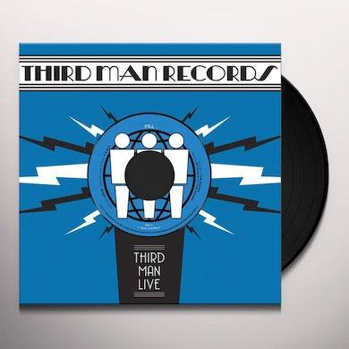 Pill AFRAID OF THE MIRROR / T.V. WEDDING THIRD MAN LIVE Vinyl Record