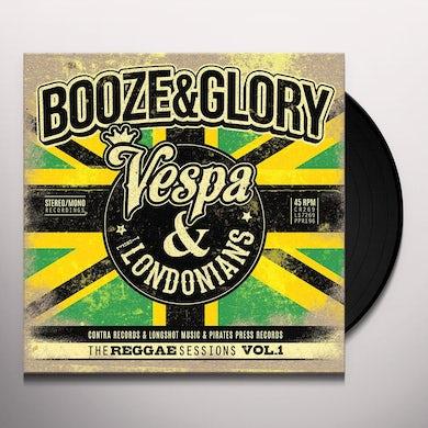 Booze & Glory REGGAE SESSIONS VOL. 1 Vinyl Record