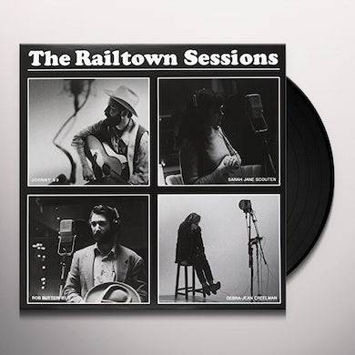 Railtown Sessions Vol 1-4 / Various Vinyl Record