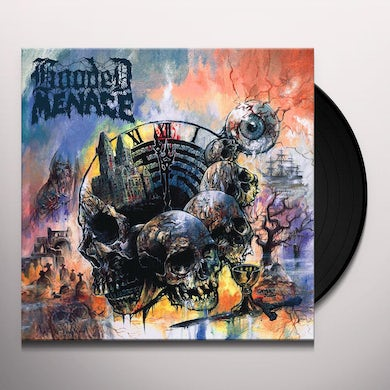 Hooded Menace LABYRINTH OF CARRION BREEZE Vinyl Record