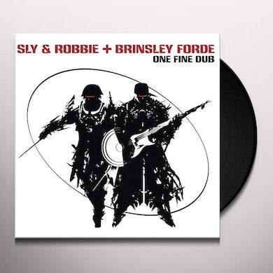 Sly & Robbie ONE FIRE DUB Vinyl Record