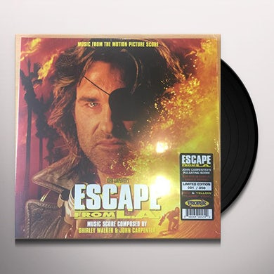 ESCAPE FROM L.A. MUSIC FROM MOTION PICTURE SCORE Vinyl Record