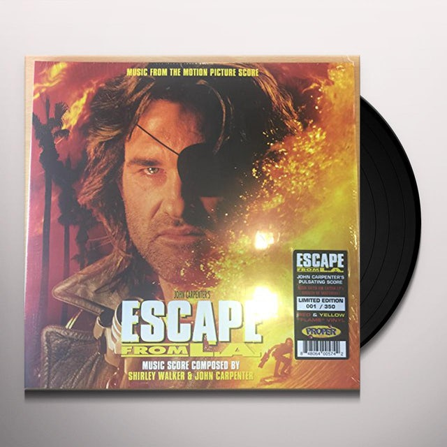 Escape From L.A. Music From Motion Picture Score