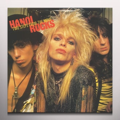 Hanoi Rocks TWO STEPS FROM THE MOVE - Limited Edition Yellow Colored Vinyl Record
