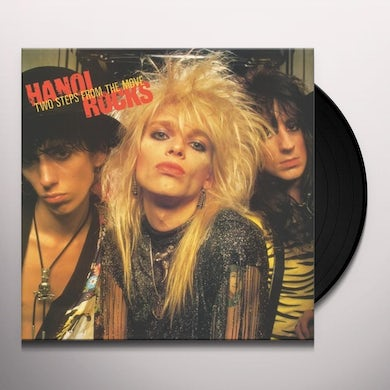 Hanoi Rocks TWO STEPS FROM THE MOVE Vinyl Record