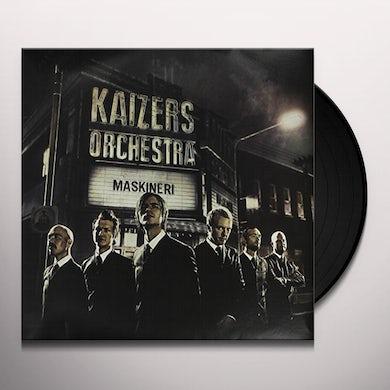 Kaizers Orchestra MASKINERI Vinyl Record
