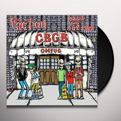 Faction PEGGED FOR LIVE Vinyl Record