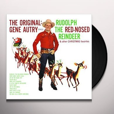 Gene Autry RUDOLPH THE RED-NOSED REINDEER Vinyl Record