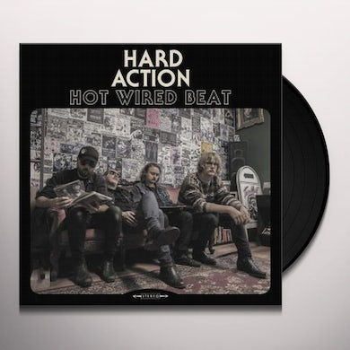 HARD ACTION Hot Wired Beat Vinyl Record