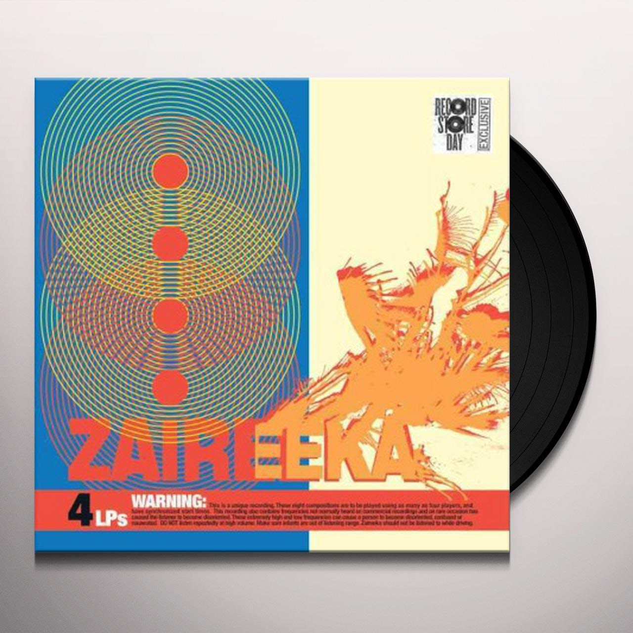 The Flaming Lips Zaireeka Vinyl Record