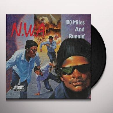 N.W.A. 100 MILES & RUNNING Vinyl Record