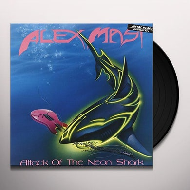 Alex Masi ATTACK OF THE NEON SHARK Vinyl Record