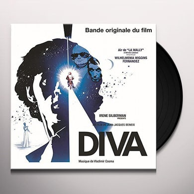 Vladimir Cosma DIVA / Original Soundtrack Vinyl Record