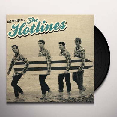 Hotlines RETURN OF Vinyl Record