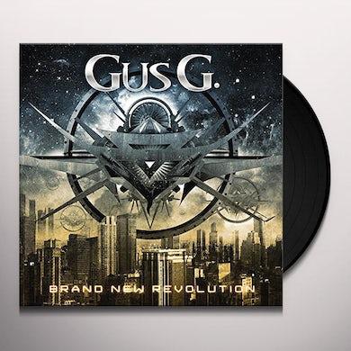 Gus G. BRAND NEW REVOLUTION (SILVER VINYL) Vinyl Record