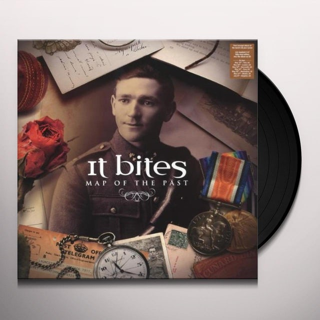 It Bites MAP OF THE PAST (UK) (Vinyl)