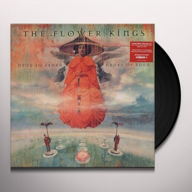 The Flower Kings BANKS OF EDEN Vinyl Record