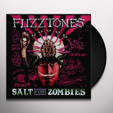 The Fuzztones SALT FOR ZOMBIES Vinyl Record