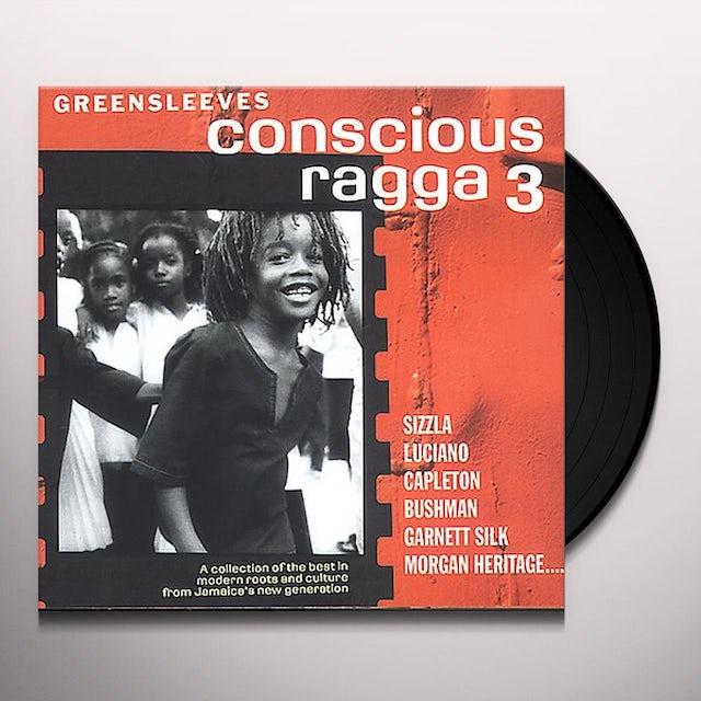 Conscious Ragga 3 / Various Vinyl Record