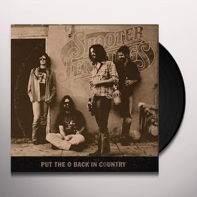 Shooter Jennings PUT THE O BACK IN COUNTRY Vinyl Record