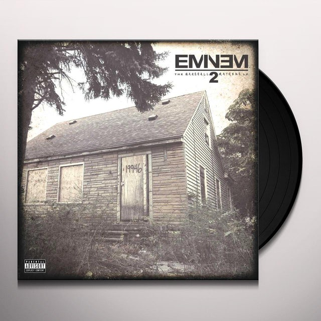Eminem MARSHALL MATHERS LP2 Vinyl Record