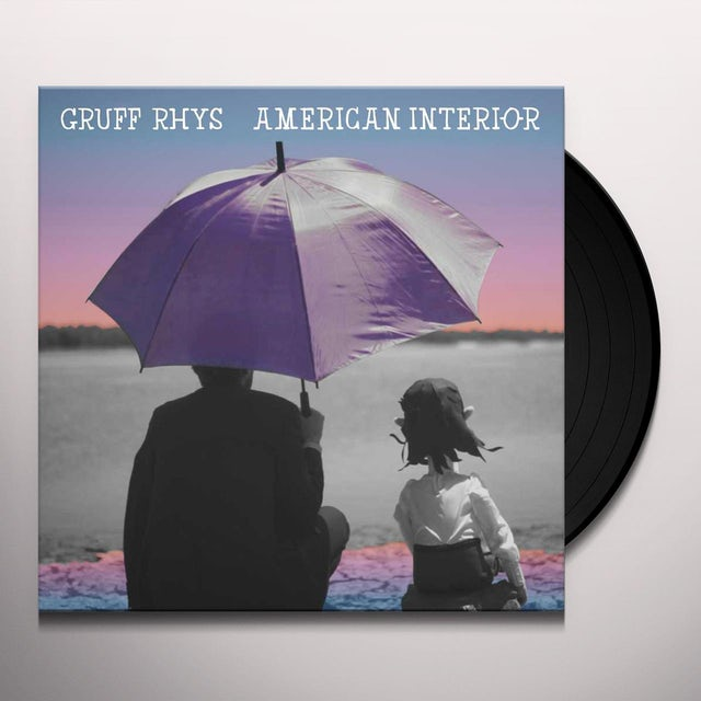Gruff Rhys AMERICAN INTERIOR (HK) (Vinyl)