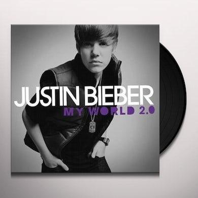 Justin Bieber My World 2.0 (LP) Vinyl Record