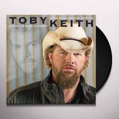 Toby Keith SHOULD'VE BEEN A COWBOY Vinyl Record