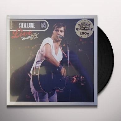 Steve Earle & The Dukes LIVE FROM AUSTIN TX Vinyl Record