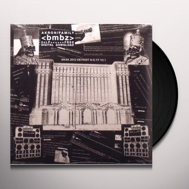 Akron/Family BMBZ Vinyl Record
