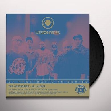 Visionaries ALL ALONG / CROWN ROYALE - STRATASPHERE Vinyl Record