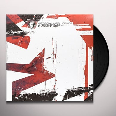 Artificial Intelligence DAYS OF RAGE VIP/STAND ALONE Vinyl Record - Australia Release