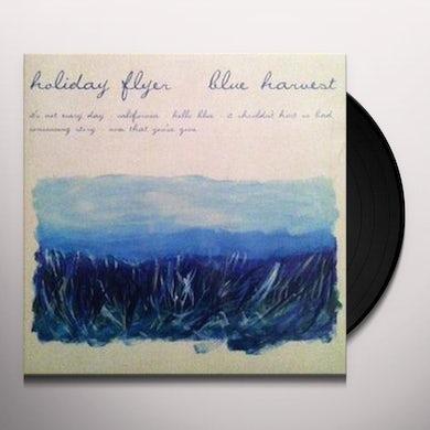 Holiday Flyer BLUE HARVEST Vinyl Record