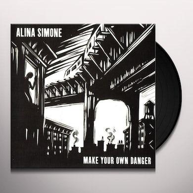 Alina Simone MAKE YOUR OWN DANGER Vinyl Record