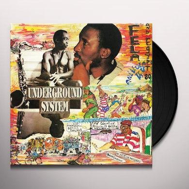 Fela Kuti Underground System Vinyl Record