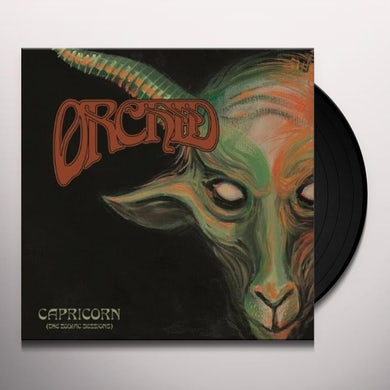 Orchid CAPRICORN - THE ZODIAC SESSIONS Vinyl Record