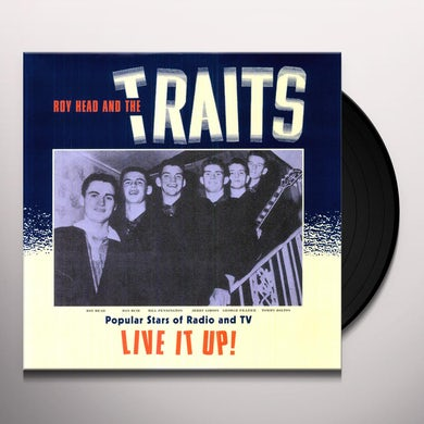 Roy Head LIVE IT UP Vinyl Record