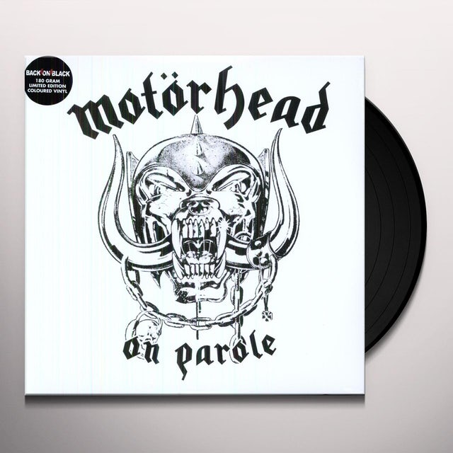Motorhead ON PAROLE Vinyl Record - 180 Gram Pressing