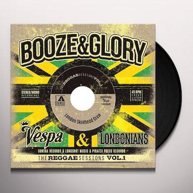 Booze & Glory REGGAE SESSIONS VOL. 1 (DELUXE ED) Vinyl Record