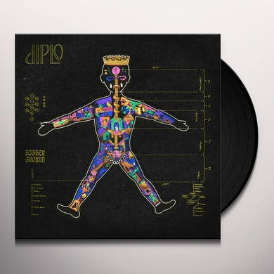 Diplo HIGHER GROUND Vinyl Record