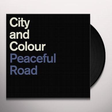 City and Colour PEACEFUL ROAD / RAIN Vinyl Record