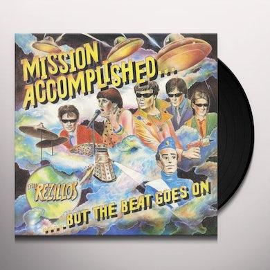 The Rezillos MISSION ACCOMPLISHED Vinyl Record