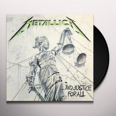 Metallica And Justice for All Vinyl Record