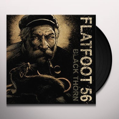 Flatfoot 56 BLACK THORN Vinyl Record