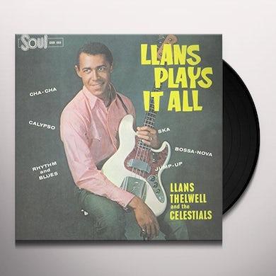 LLANS PLAYS IT ALL Vinyl Record