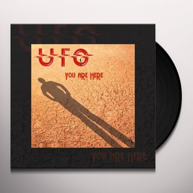 Ufo YOU ARE HERE Vinyl Record
