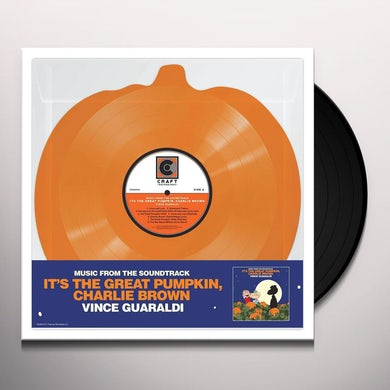 Vince Guaraldi IT'S THE GREAT PUMPKIN CHARLIE BROWN Vinyl Record