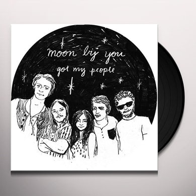 MOON BY YOU GOT MY PEOPLE Vinyl Record